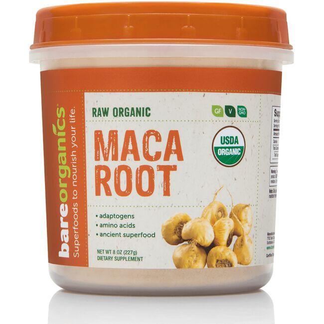 BareOrganicsRaw Organic Maca Root