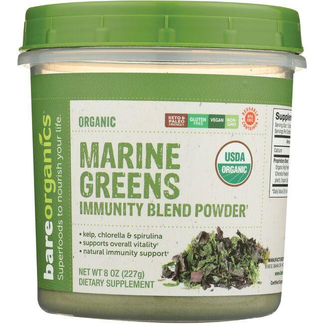 BareOrganicsRaw Organic Marine Super Greens