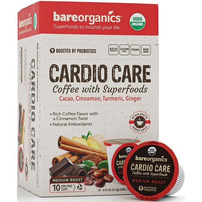 BareOrganicsCardio Care Coffee with Superfoods