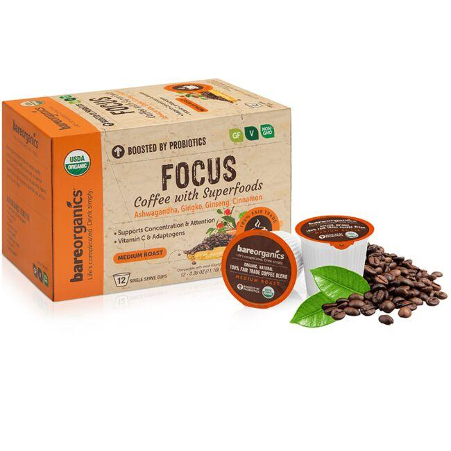 BareOrganicsFocus Coffee with Superfoods