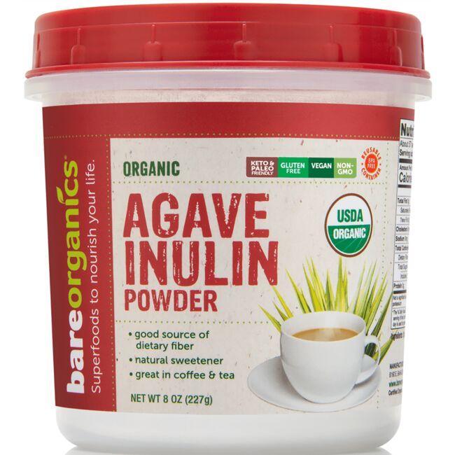 BareOrganicsOrganic Agave Inulin Powder