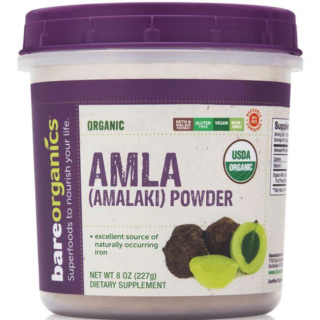 BareOrganicsOrganic Amla (Amalaki) Powder