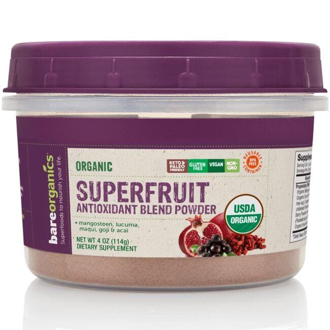 BareOrganics Organic Superfruit Antioxidant Blend Powder