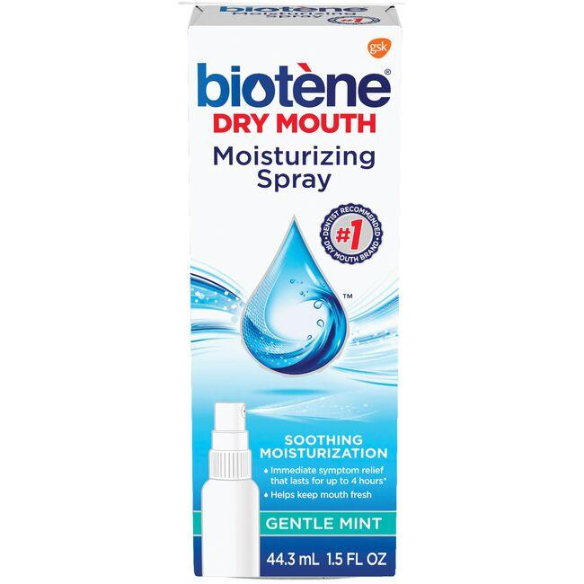 BioteneDry Mouth Moisturizing Spray - Gentle Mint