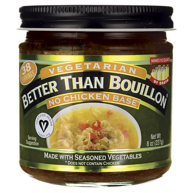 Better Than BouillonVegetarian No Chicken Base
