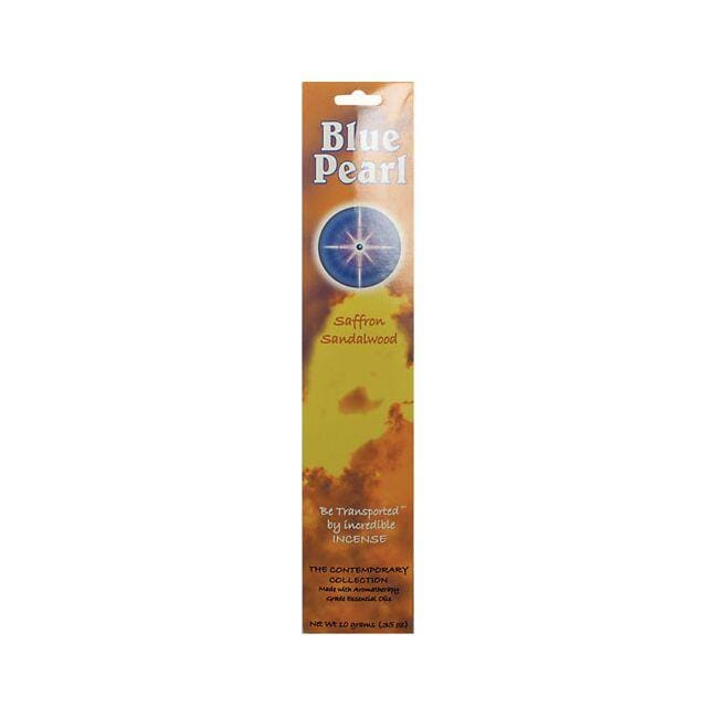 Blue Pearl Saffron Sandalwood Incense Sticks