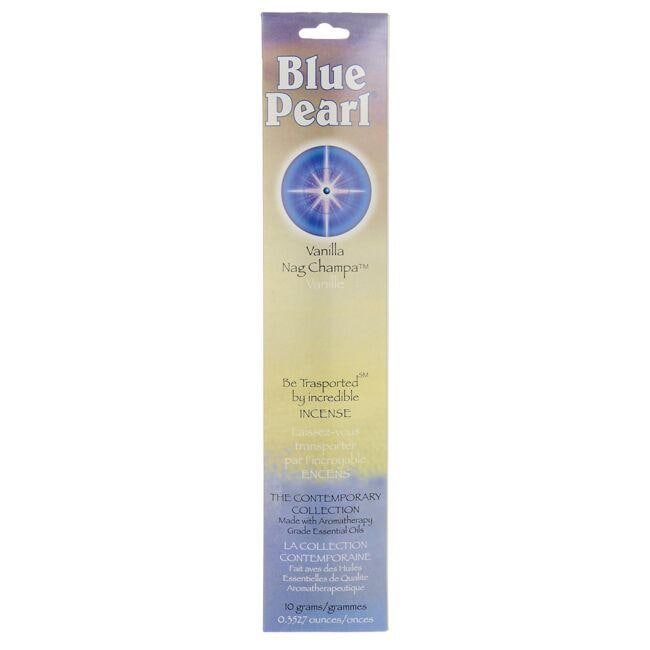 Blue Pearl Vanilla Nag Champa Incense Sticks