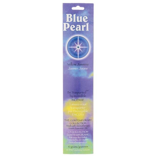 Blue Pearl Yellow Jasmine Incense Sticks