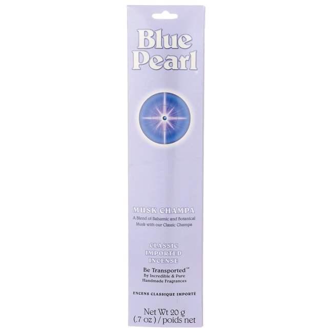 Blue PearlMusk Champa Incense