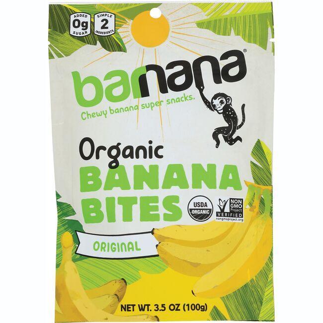 BarnanaOrganic Chewy Banana Bites - Original