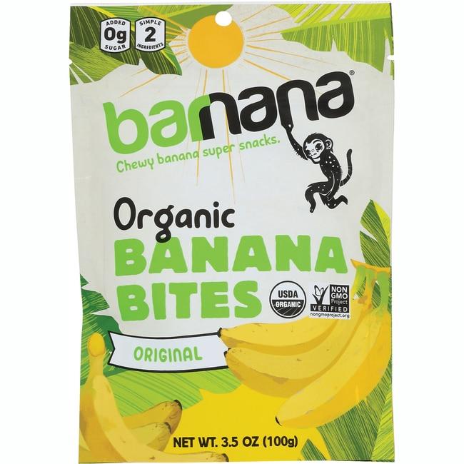 BarnanaOrganic Original Chewy Banana Bites