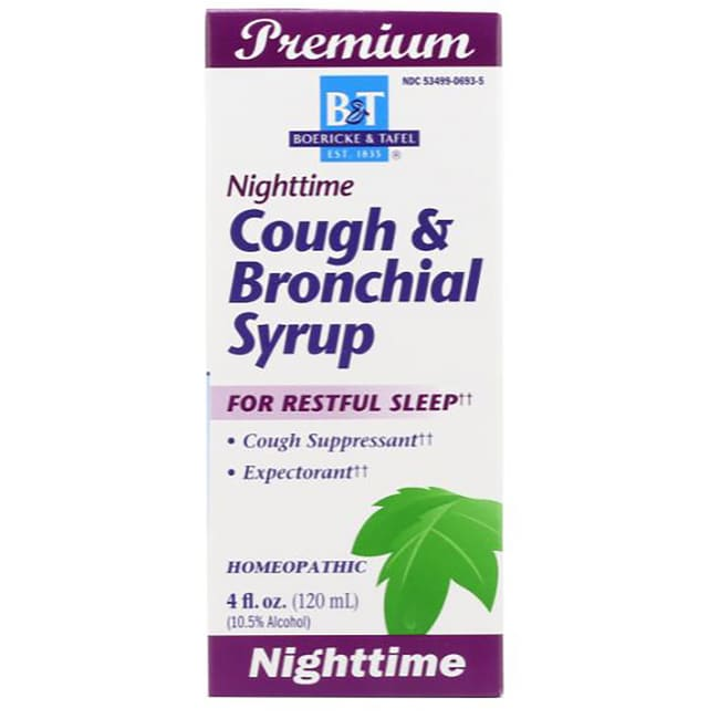 Boericke & TafelNighttime Cough & Bronchial Syrup