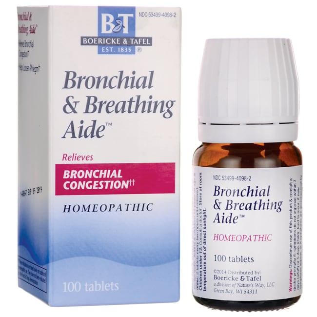 Boericke & TafelBronchial & Breathing Aide