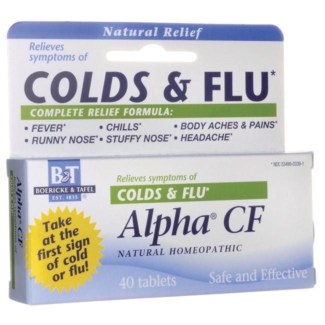 Boericke & Tafel Alpha CF Colds & flu