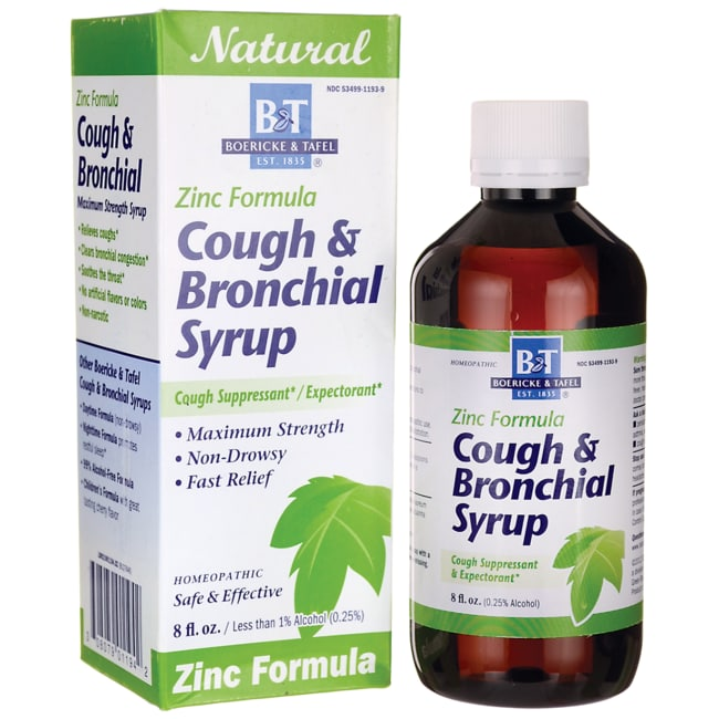 Boericke & TafelZinc Formula Cough & Bronchial Syrup