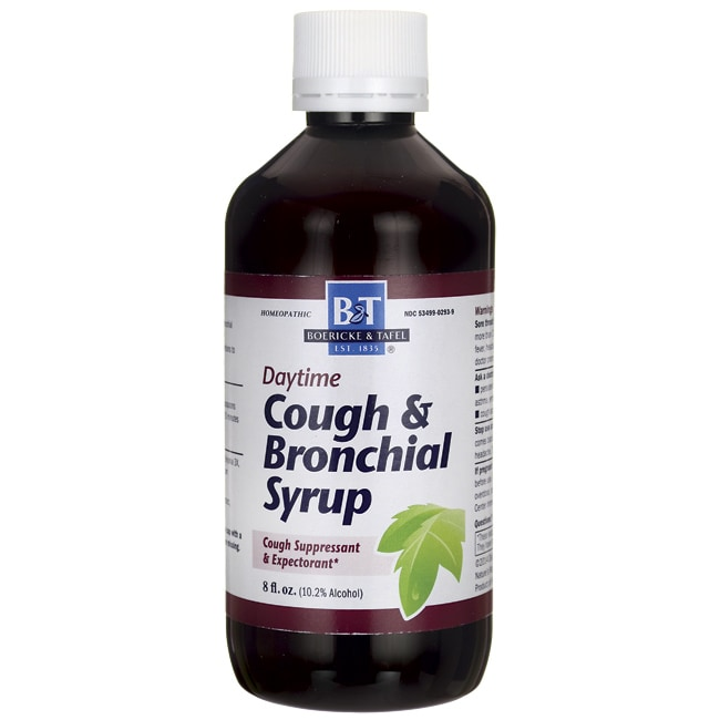 Bronchitis cough syrup
