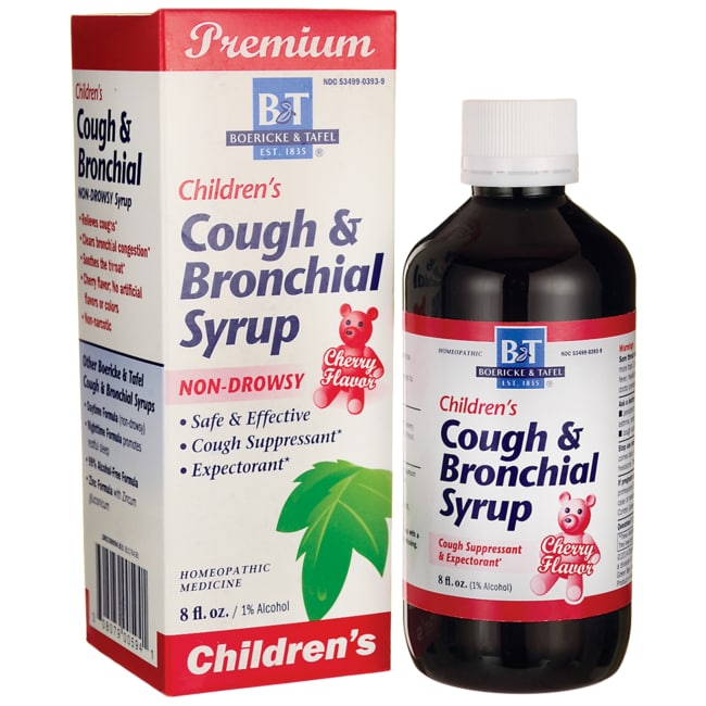 Boericke & Tafel Children's Cough & Bronchial Syrup Non-Drowsy - Cherry