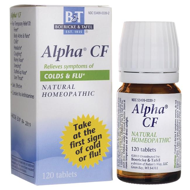 Boericke & Tafel Alpha CF
