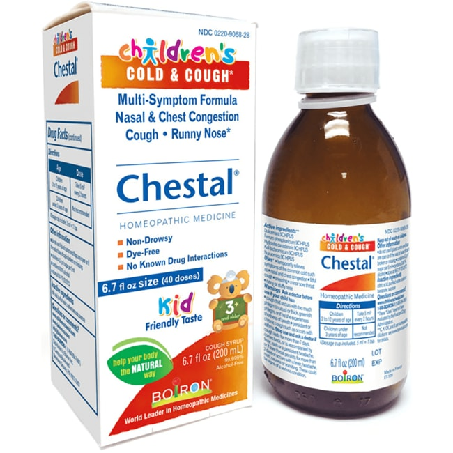 BoironChildren's Cold & Cough Chestal Syrup