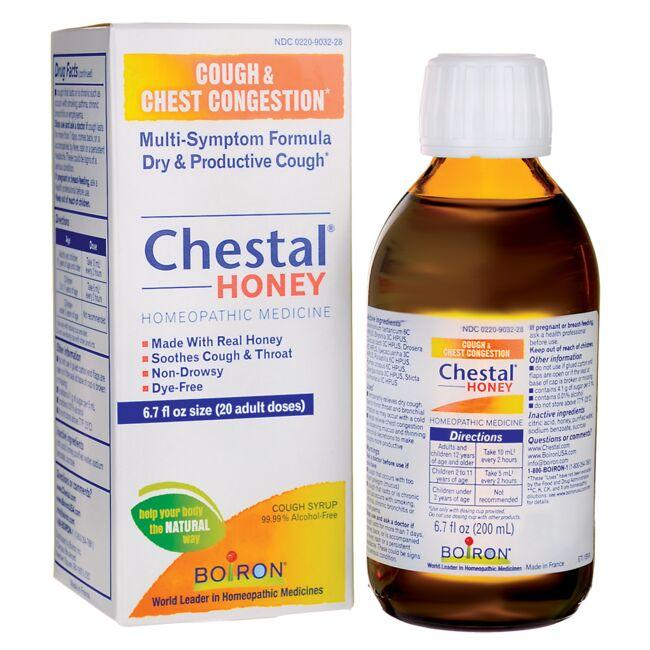 Boiron Chestal Honey Cough Syrup