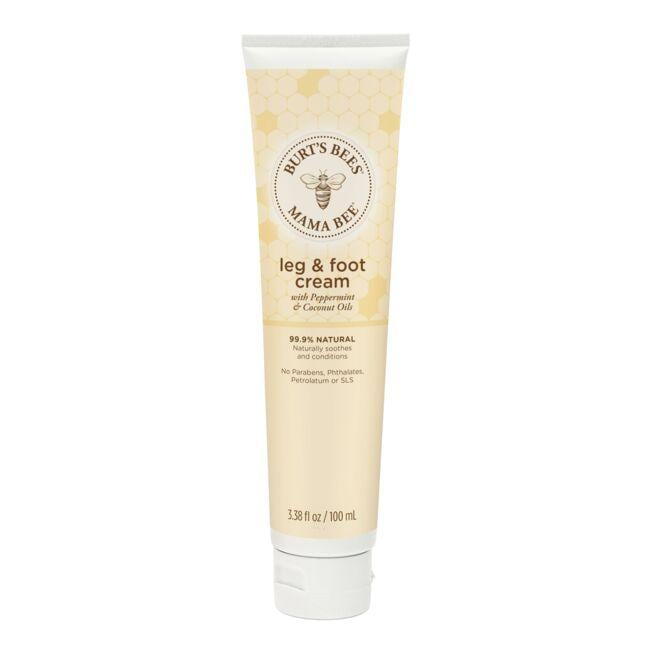 Burt's Bees Mama Bee Leg & Foot Cream with Peppermint & Coconut Oils
