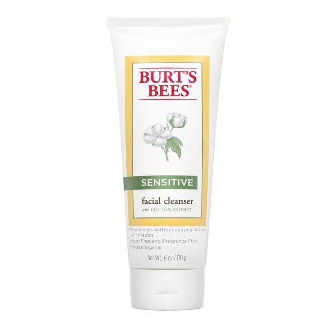 Burt's Bees Facial Cleanser with Cotton Extract - Sensitive