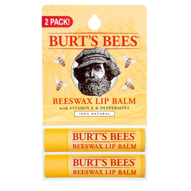 Burt's BeesBeeswax Lip Balm with Vitamin E & Peppermint 2 Pack