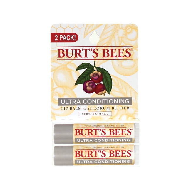 Burt's BeesUltra Conditioning Lip Balm 2 Pack