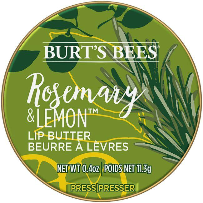 Burt's Bees Lip Butter - Rosemary & Lemon