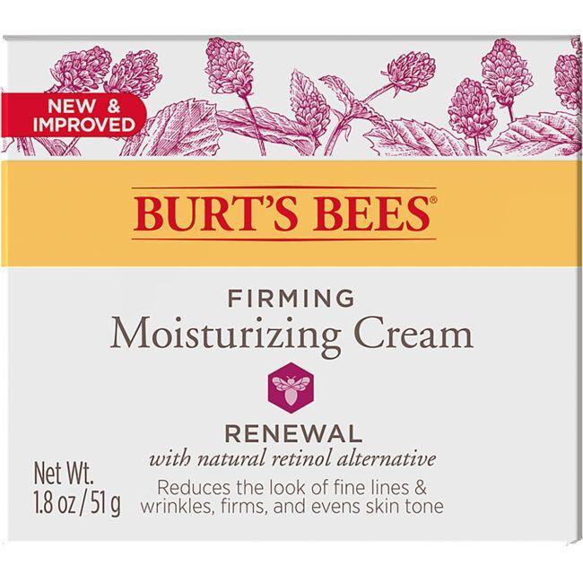 Burt's BeesRenewal Firming Moisturizing Cream