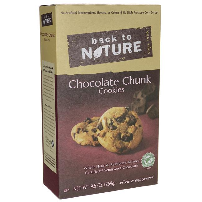 Back To NatureChocolate Chunk Cookies
