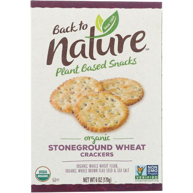 Back To NatureOrganic Stoneground Wheat Crackers