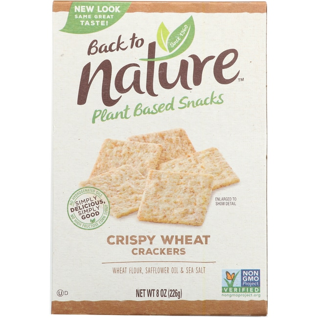 Back To NatureCrispy Wheat Crackers