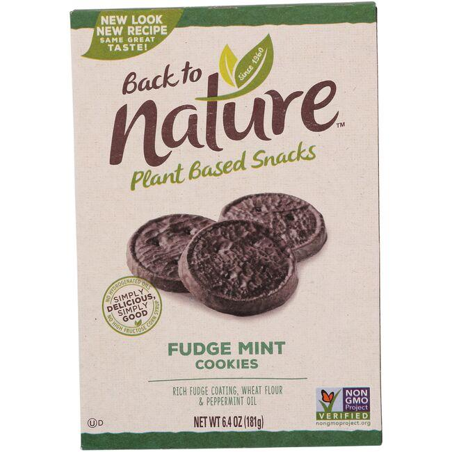 Back To NatureFudge Mint Cookies
