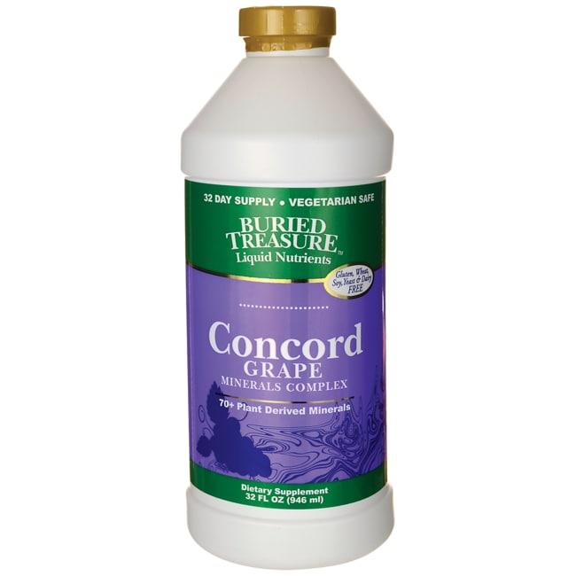 Buried Treasure Concord Grape Minerals Complex