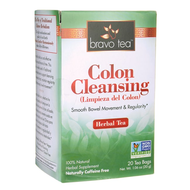 Tea for colon cleansing