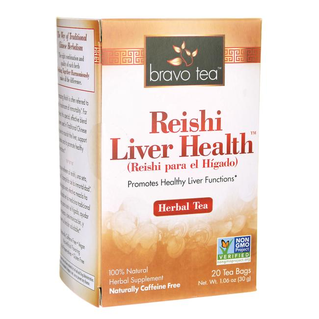Bravo Tea Reishi Liver Health Tea