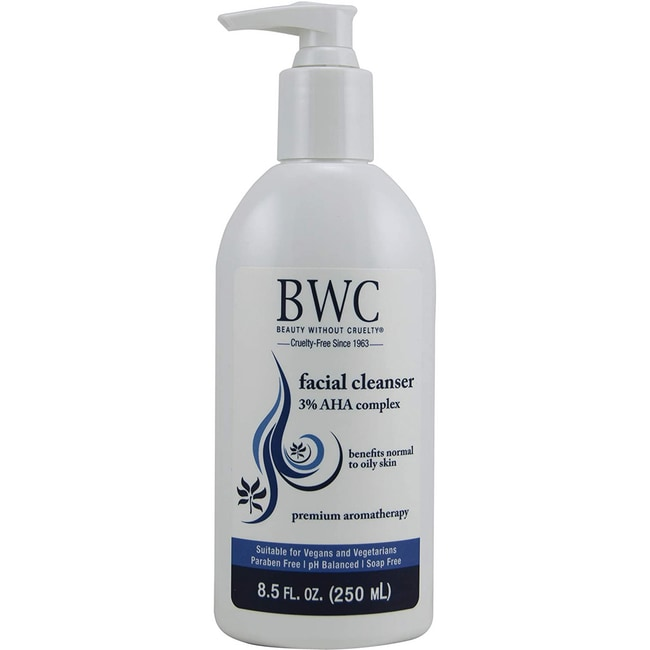 Beauty Without CrueltyFacial Cleanser 3% AHA Complex