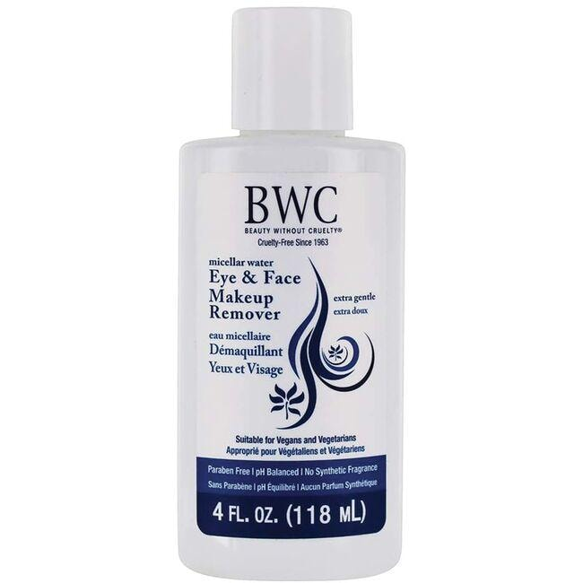 Beauty Without Cruelty Eye & Face Makeup Remover - Extra Gentle