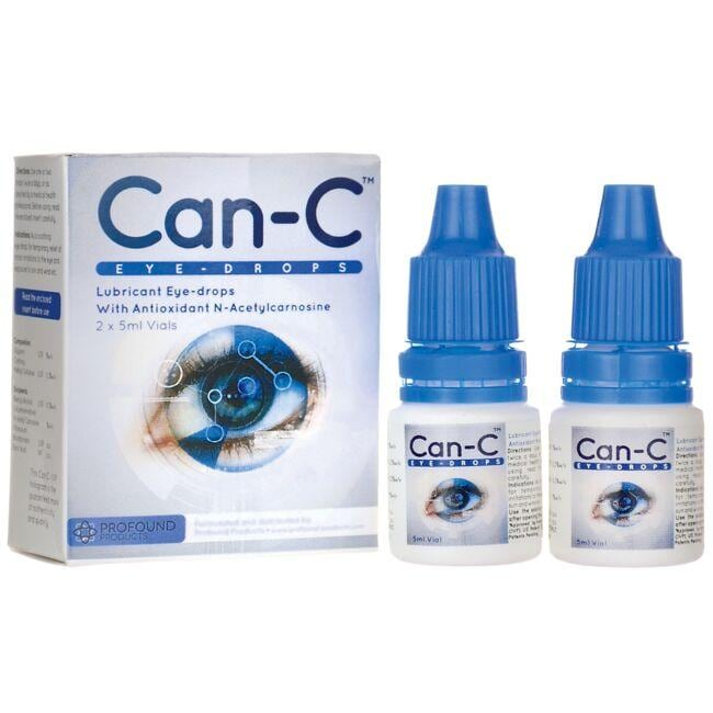 Can-C Lubricant Eye Drops with N-Acetylcarnosine