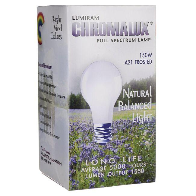 Chromalux Full Spectrum Light Bulb - A21 Frosted