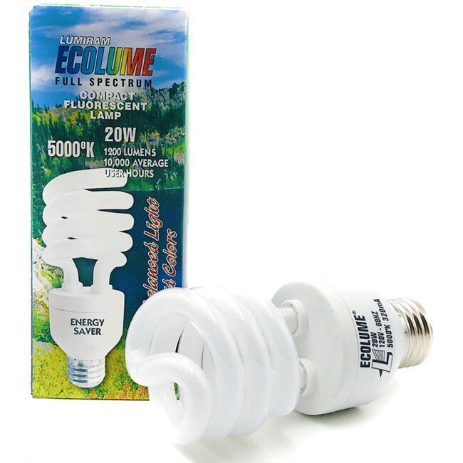 ChromaluxEnergy Saver Compact Light Bulb - 20 Watt