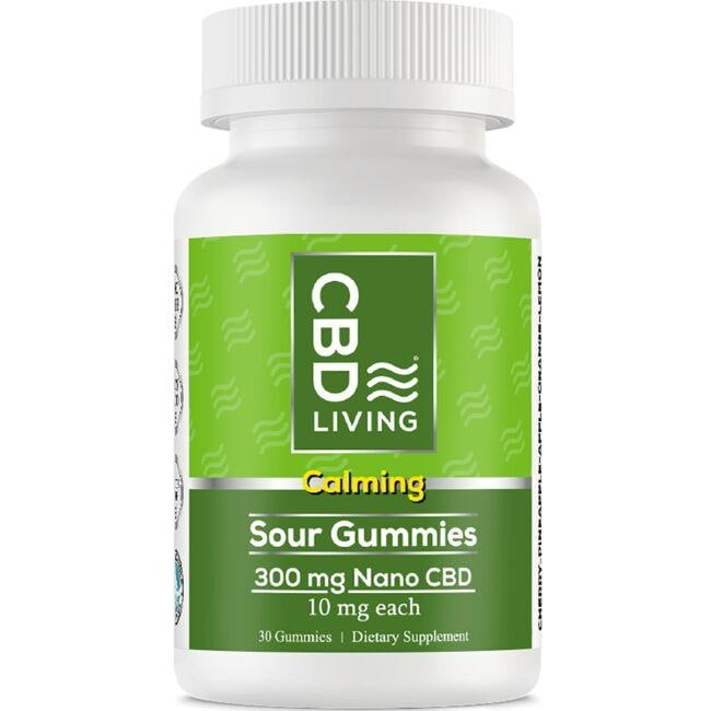 CBD Living CBD Sour Daily Gummy Chew