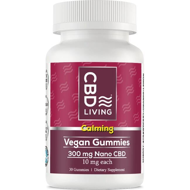 CBD Living CBD Gummies - Vegan Gummies