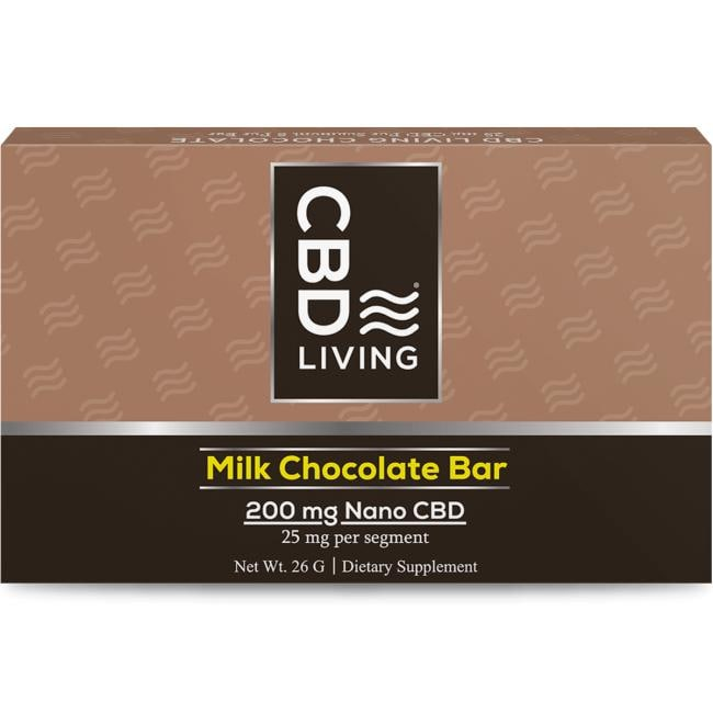 Cbd Living CBD Milk Chocolate Bar