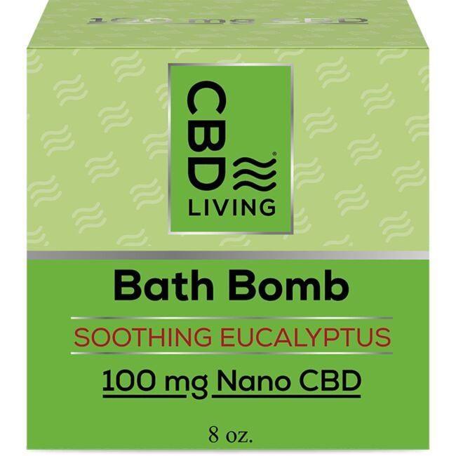 Cbd LivingCBD Bath Bomb - Eucalyptus