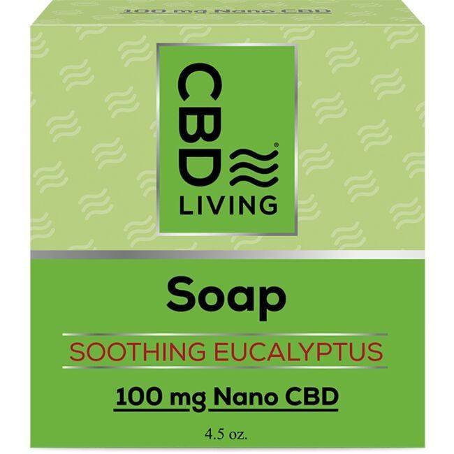 Cbd LivingCBD Soap - Eucalyptus