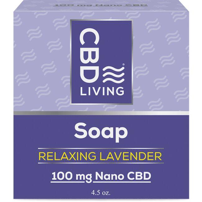 CBD Living CBD Soap - Relaxing Lavender