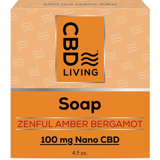 CBD LivingCBD Soap - Amber Bergamot