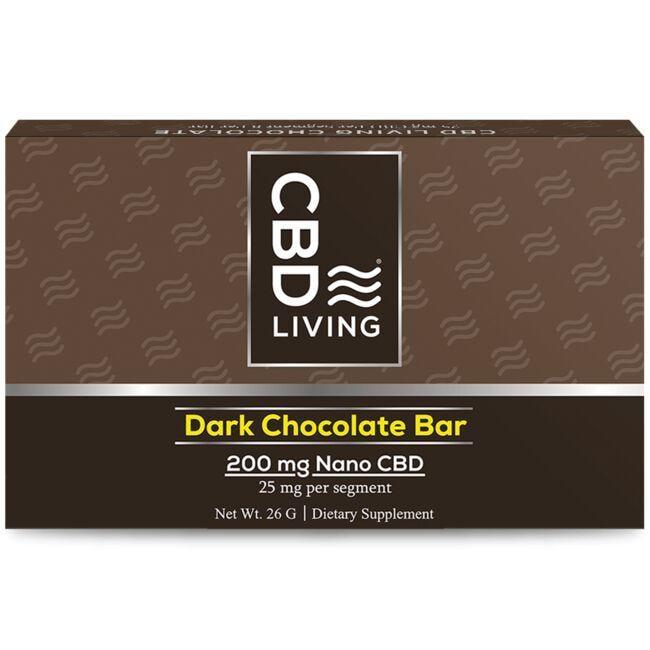 CBD LivingCBD Dark Chocolate Bar
